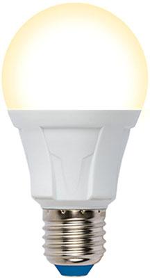 Лампа Uniel LED-A60-12W/3000K/E27/FR/DIM PLP01WH