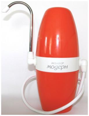 Насадка на кран Аквафор Модерн исп.1 (оранжевый) фильтр для воды аквафор модерн 4