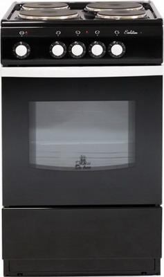 Электроплита DeLuxe 5004.12 э (без щитка и крышки) черный фото