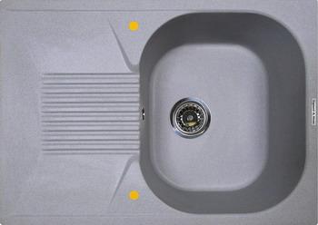 Кухонная мойка Zigmund amp Shtain KLASSISCH 695 млечный путь
