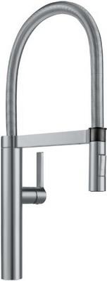 Кухонный смеситель BLANCO CULINA-S поверхность нержавеющая сталь
