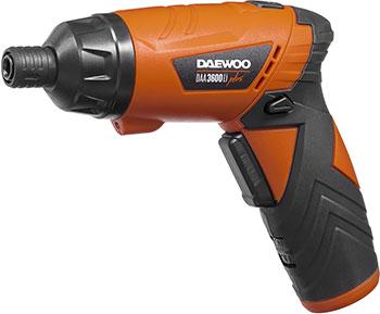 Аккумуляторная отвертка Daewoo Power Products DAА 3600 LI Plus универсальная аккумуляторная батарея daewoo power products dabt 4040 li