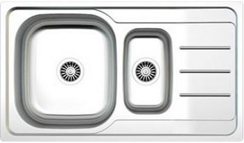 Кухонная мойка Zigmund & Shtain RECHTECK 860 D.8 Linen