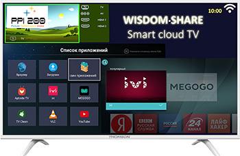LED телевизор Thomson T 43 FSL 5131 полуботинки t taccardi 25806450 43 черный 43 размер
