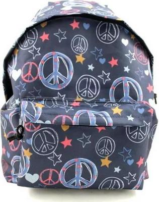 Рюкзак 1 School пацифик джинс ko 012059 рюкзак из старых джинс
