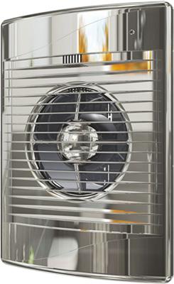 Вентилятор вытяжной с обратным клапаном DiCiTi D 125 декоративный (STANDiCiTi DARDiCiTi D 5C Chrome)