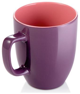 Кружка Tescoma CREMA SHINE фиолетовый 387192.23 стакан tescoma crema 500 мл