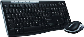 Клавиатура + мышь Logitech Wireless Combo MK 270 (920-004518) цена и фото
