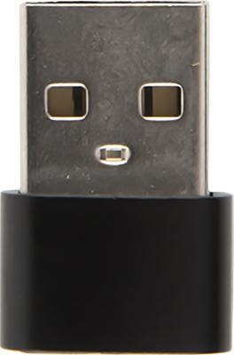 Фото - Адаптер-переходник Red Line Type-C-USB черный адаптер переходник baseus catl45 01 черный