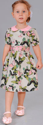 Платье Fleur de Vie Арт. 14-7840 рост 116 бежевый комбинезон fleur de vie арт 14 8720 рост 122 персик