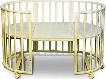 Детская кроватка Sweet Baby Delizia Avorio (Слоновая кость) без маятника 383 063 пеленальный комод sweet baby venerdi avorio слоновая кость жираф 382 038