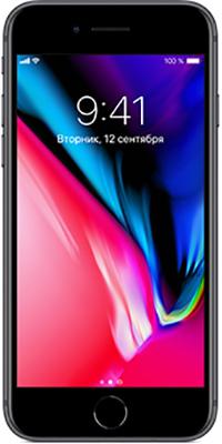 Смартфон Apple iPhone 8 64 ГБ серый космос (MQ6G2RU/A) смартфон apple iphone 8 plus 64 гб серебристый mq8m2ru a