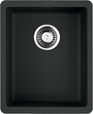 Кухонная мойка OMOIKIRI Kata 34-U-BL Artgranit/черный (4993382) кухонная мойка omoikiri kata 55 2 u bl artgranit черный 4993389