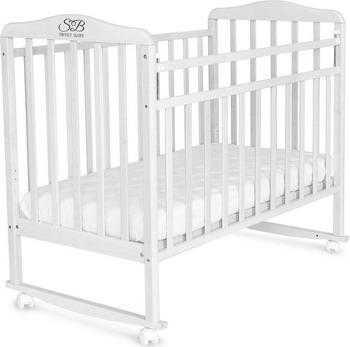 Детская кроватка Sweet Baby Mario Bianco (Белый) детская кроватка sweet baby mario nuvola bianca белое облако