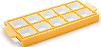 Форма для квадратных равиоли Tescoma DELICIA 10шт 630877 кондитерский карандаш tescoma delicia