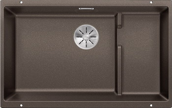 Кухонная мойка BLANCO SUBLINE 700-U Level SILGRANIT кофе с отв.арм. InFino 523547 цены онлайн