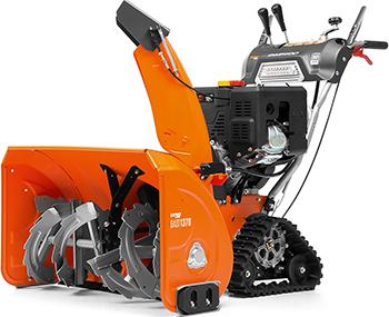 Фото - Снегоуборочная машина Daewoo Power Products DAST 1370 снегоуборочная машина бензиновая champion st656 6 5 л с 56 см 3 6 л 72кг ручной стартер колёсный привод 5f 2r