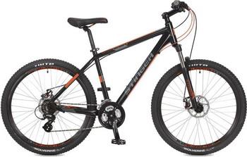 Велосипед Stinger 26'' Reload D 18'' черный 26 AHD.RELOADD.18 BK7 top gear велосипед 26 neon 225 18 скоростей матовые цвета черный желтый вн26417