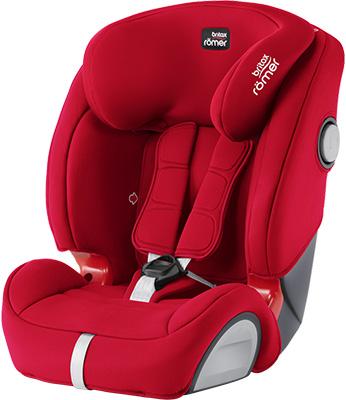 Автокресло Britax Roemer Evolva 123 SL SICT Fire Red Trendline 2000030822 цена