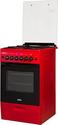Комбинированная плита Reex CGE-531969 ecRd красный