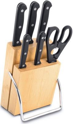 Набор ножей, ножницы и подставка Berghoff Lagos 1307077 professional 6 0 inch japan 440c left hand use hair cutting thinning scissors thinning rate 30