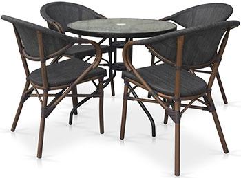 Комплект мебели Афина TLH-087-D 80/D 2003 S 4Pcs стол кофейный d 098 s