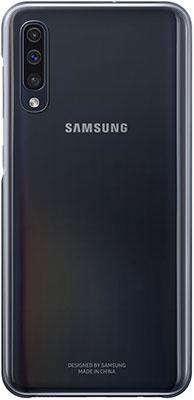 Чехол (флип-кейс) Samsung A 50 (A 505) GradationCover black EF-AA 505 CBEGRU чехол накладка для samsung galaxy note 8 samsung clear cover great ef qn950cbegru black флип поликарбонат