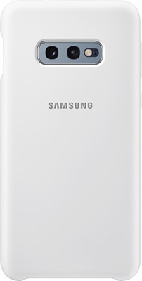 Чехол (клип-кейс) Samsung S 10 e (G 970) SiliconeCover white EF-PG 970 TWEGRU