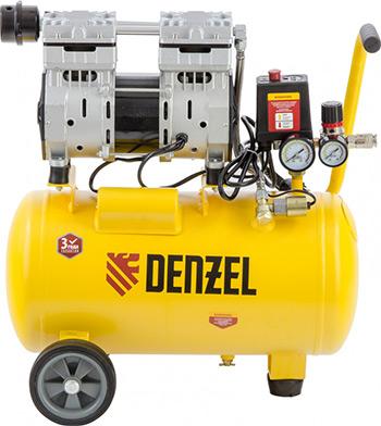 Компрессор DENZEL DLS 950/24 58026 компрессор denzel рс 1 6 180 1100вт 180л мин 6л