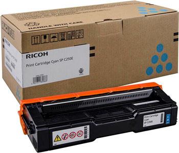 Принт-картридж Ricoh SP C 250 E Cyan 407544 Голубой недорого