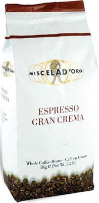Кофе зерновой Miscela D`Oro Gran Crema 1000 г кофе зерновой miscela d oro gran crema 1000 г