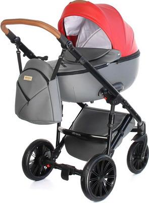 Коляска Everflo BLISS cherry ПП100004373 коляска 2 в 1 everflo soft graphite пп100004367