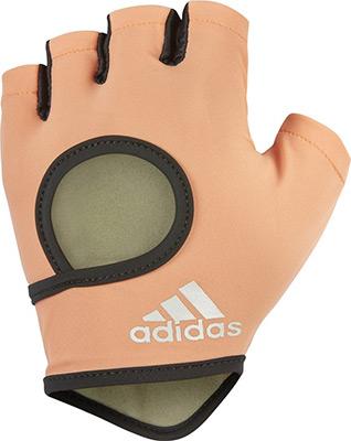 Перчатки Adidas Chalk Coral - L ADGB-12635 пуховик женский adidas w helionic ho j цвет голубой bq1929 размер l 48 50