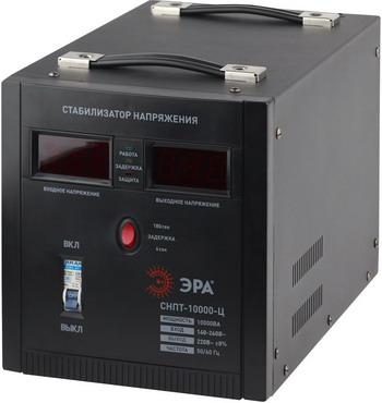 цена на Стабилизатор напряжения ЭРА СНПТ-10000-Ц