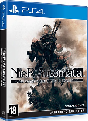 Игра для приставки Sony PS4: NieR:Automata Game of the YoRHa Edition
