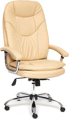 Кресло Tetchair SOFTY Lux кож/зам бежевый 36-34 парка softy softy so017ewcuse2