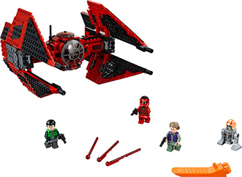 Конструктор Lego Star Wars TM Истребитель СИД майора Вонрега 75240 цена