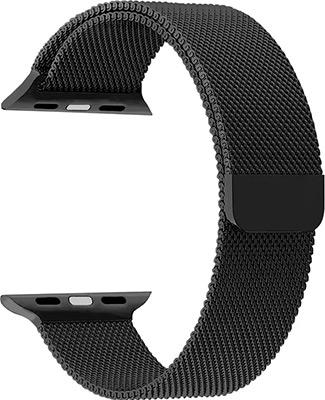 Ремешок для часов Lyambda для Apple Watch 42/44 mm CAPELLA DS-APM02-44-BK Black ремешок для часов lyambda для apple watch 42 44 mm minkar dsp 10 44 black