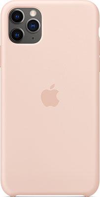 Чехол силиконовый Apple Silicone Case для Phone 11 Pro Max Pink Sand MWYY2ZM/A