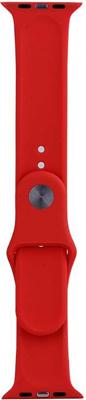 Фото - Ремешок спортивный Eva для Apple Watch 38mm Красный (AVA001R) защитное стекло skinbox apple watch 38mm