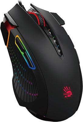 Мышь игровая A4Tech Bloody J90 черный мышь игровая беспроводная a4tech bloody r7 r70 черный
