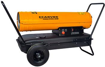 Тепловая пушка Carver EHDK-50W оранжевый 01.005.00015 электрическая тепловая пушка carver ehdk 40w