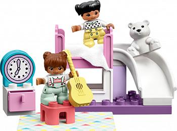 Конструктор Lego DUPLO Town Спальня 10926 lego duplo town 10874 поезд на паровой тяге конструктор уцененный товар 96