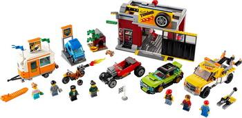 цена на Конструктор Lego City Nitro Wheels Тюнинг-мастерская 60258