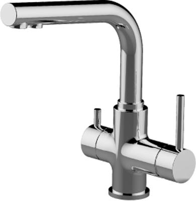 Кухонный смеситель Lemark Comfort LM3061C для кухни с подключением к фильтру с питьевой водой