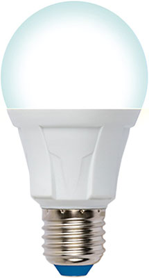 Лампа Uniel LED-A60-12W/4000K/E27/FR/DIM PLP01WH