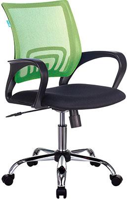 Кресло оператора Бюрократ CH-695NSL салатовый TW-03A сиденье черный TW-11 крестовина металл хром