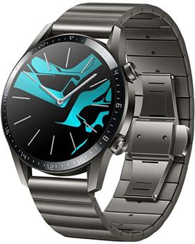 Умные часы Huawei GT 2 LTN-B19 46мм титановый серый умные часы huawei watch gt ftn b19 black
