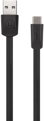 Фото - USB кабель Usams US-SJ200 U2 USB - Type-C плоский черный (SJ200TC01) microsoft для xbox series one кабель usb type c 1v8 00008 черный