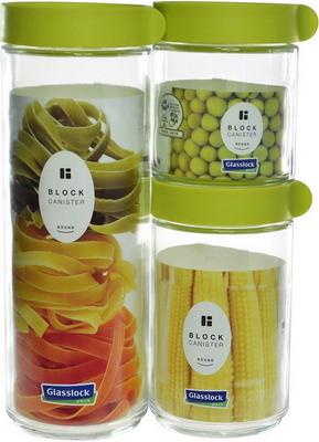 Набор контейнеров Glasslock IG-588/G набор контейнеров для масла и соусов 2 штуки glasslock ig 662